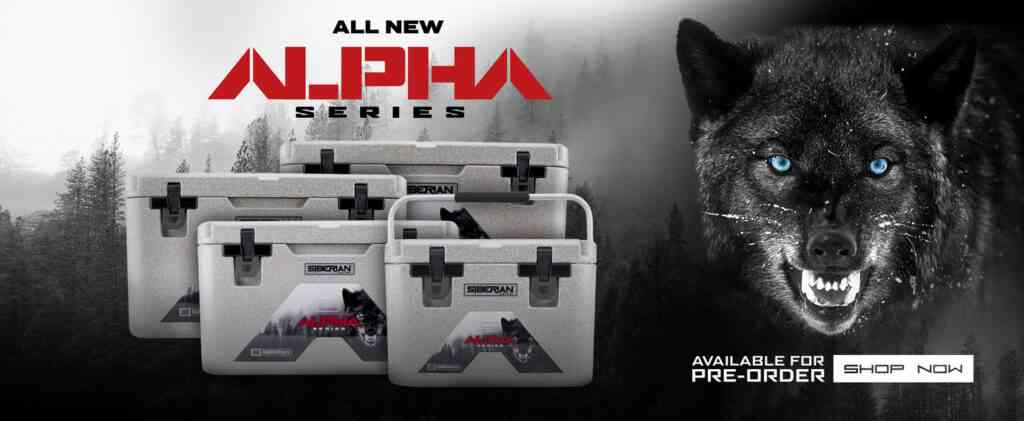 alpha series Siberian coolers