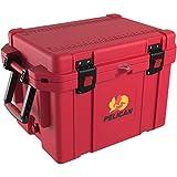 PELICAN 45 quart ProGear Elite Cooler, Red