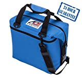 AO Coolers Original Soft Cooler with High-Density Insulation, Royal Blue, 24-Can