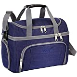 eBags Crew Cooler II Soft Sided Insulated Lunch Box - For Work, Travel & Weekends - (Brushed Indigo)