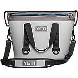 YETI Hopper Two 30 Portable Cooler, Fog Gray / Tahoe Blue