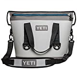 YETI Hopper Two 20 Portable Cooler, Fog Gray/Tahoe Blue
