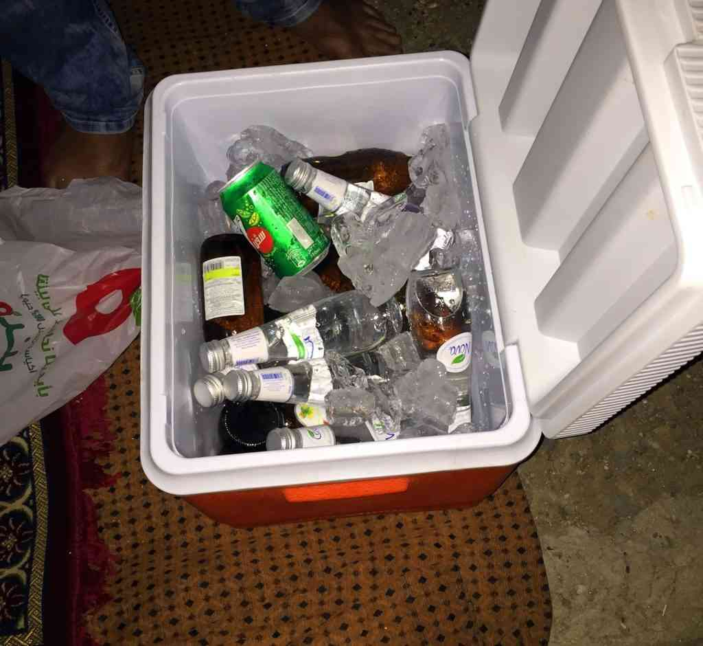 Packing your portable cooler