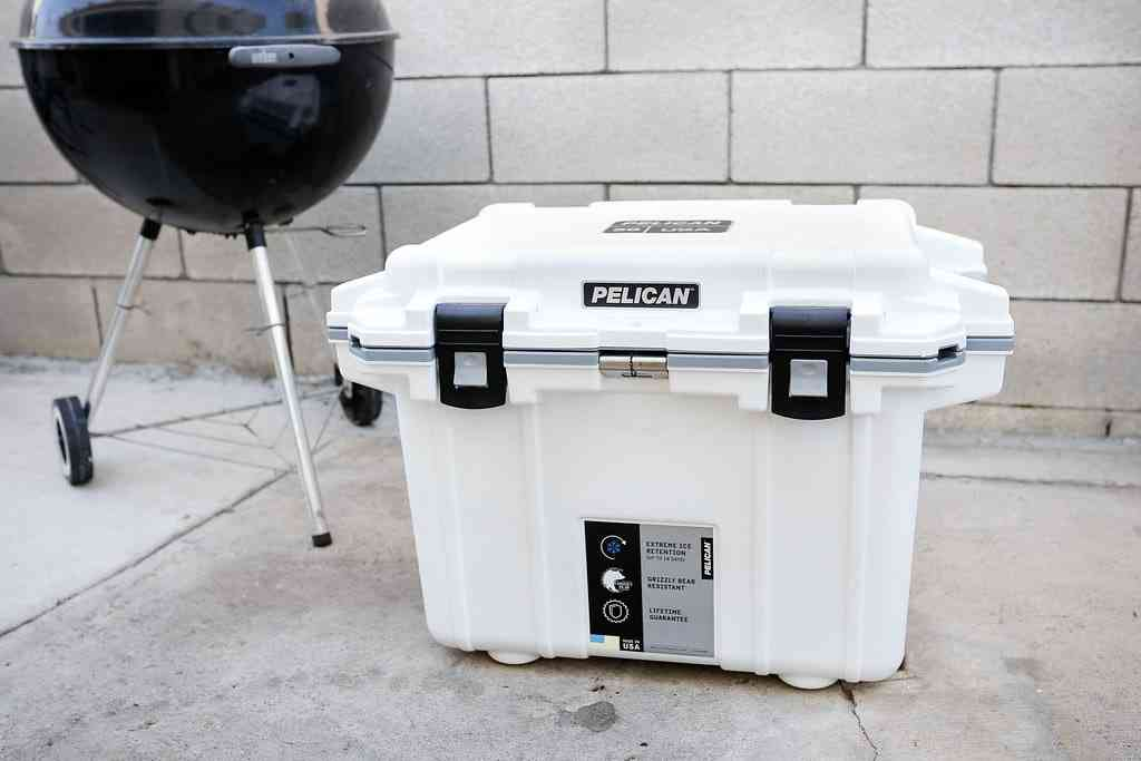 Pelican portable cooler
