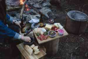 Picnic cooking