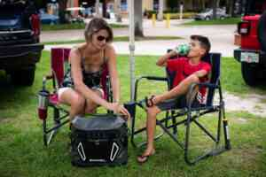 Engel cooler for camping